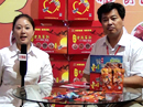 火爆食品饮料招商网采访山东鸿雁食品有限公司