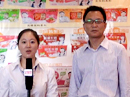 江苏伟楼生物科技有限公司接受火爆食品饮料招商网记者采访