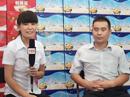 金露泉食品饮料接受火爆食品网记者采访