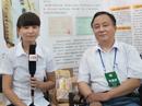 安阳立凡食品在第八届河南省糖酒会接受火爆网专访