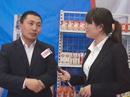 百年品牌卫岗乳业参展2013郑州糖酒会