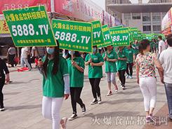 新形象再出发!火爆食品网团队身着绿T恤服装全新亮相!