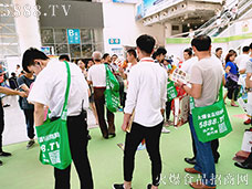 火爆网在2017济南春季糖酒会强势宣传!