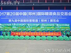 2017第20届郑州糖酒会,火爆食品饮料招商网宣传阵容强大
