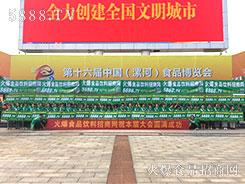 """点赞2018漯河食博会!点赞5888.TV!点赞""""火爆绿""""!"""
