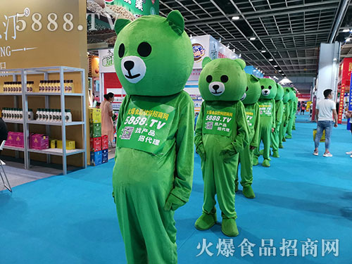 火爆食品网,绿色风暴席卷2019南京糖酒会!