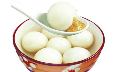 汤圆的热量约占中国营养学会推荐的普通成年人保持
