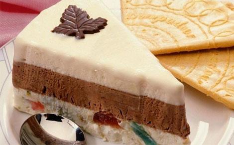 可以做单层冰淇淋蛋糕