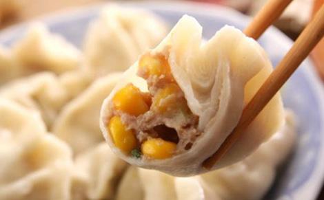 挤饺子捏的步骤图片