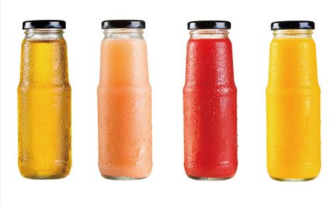 瓶装果汁饮料