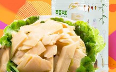 百草味泡椒脆笋图片