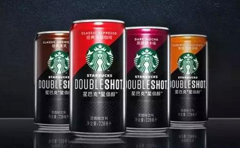 星巴克罐装星倍醇浓咖啡饮料