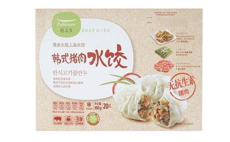 圃美多韩式猪肉水饺