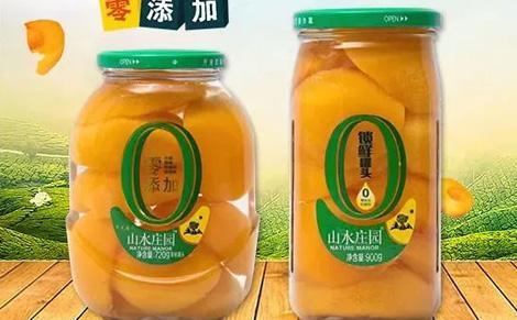 山水庄园黄桃罐头