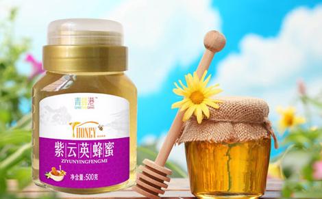 青蜂港紫云英蜂蜜