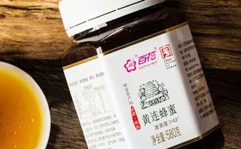 百花黄连蜂蜜图片