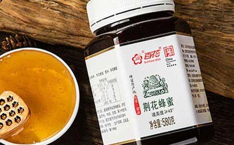 百花荆花蜂蜜图片