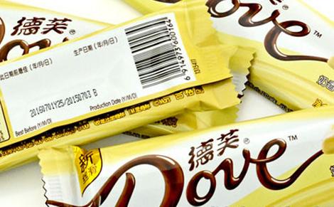 德芙奶香巧克力图片