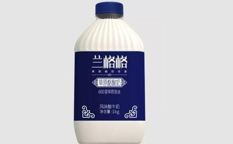 兰格格草原酪酸奶饮品图片