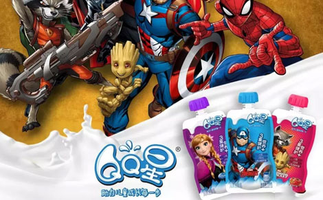 伊利QQ星儿童酸奶饮品图片