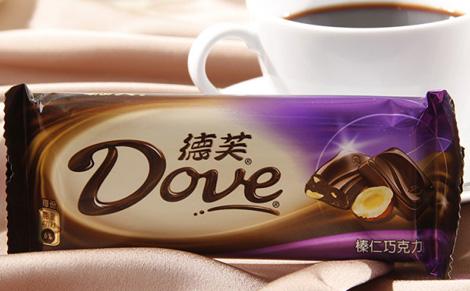 德芙榛仁味巧克力图片