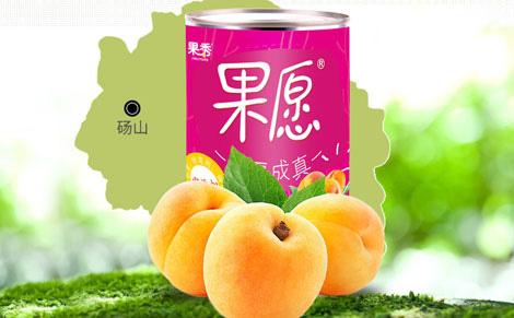 果秀果愿砀山黄桃罐头
