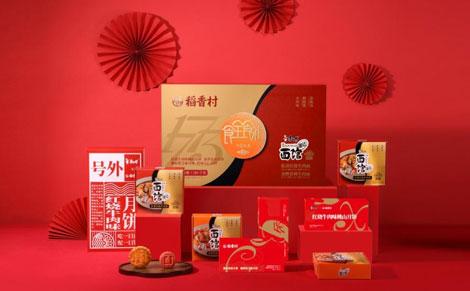 康师傅稻香村食全食礼月饼中秋礼盒