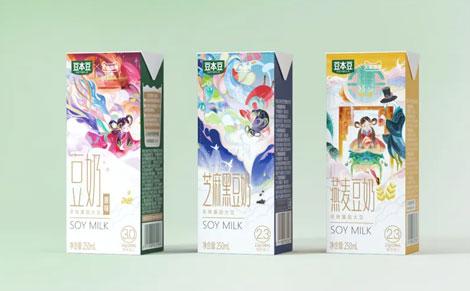 豆本豆国潮限定款豆奶