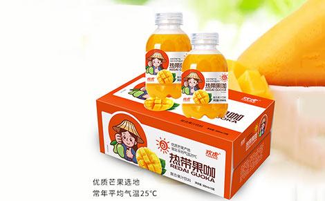 欢虎热带果咖复合果汁饮料