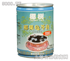 椰树椰果龟苓膏