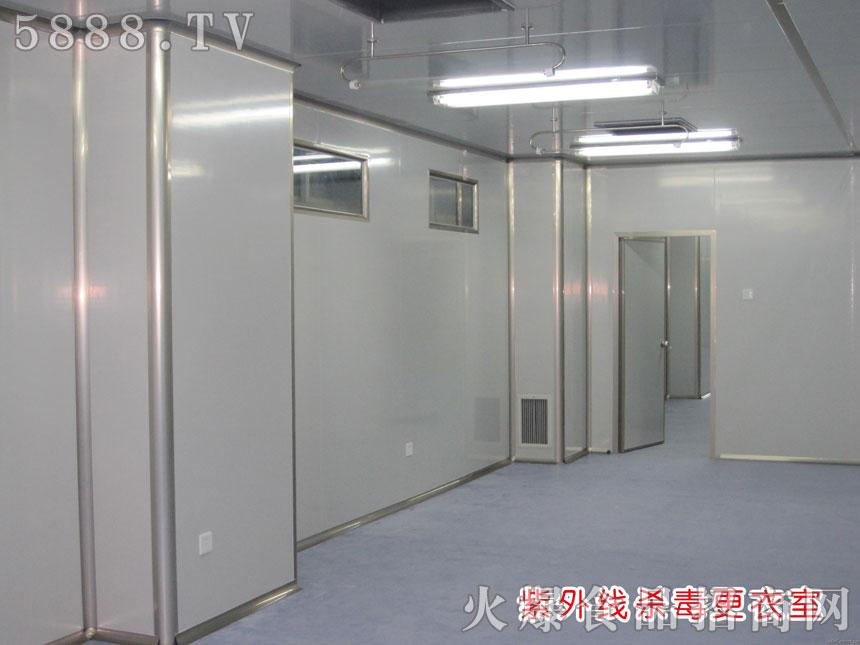 紫外线杀菌车间走廊
