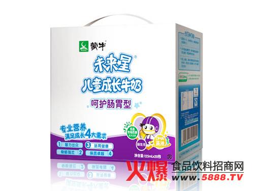 """进入2014年之后,蒙牛未来星有机奶上市,2014年""""未来星中国梦""""活动正"""