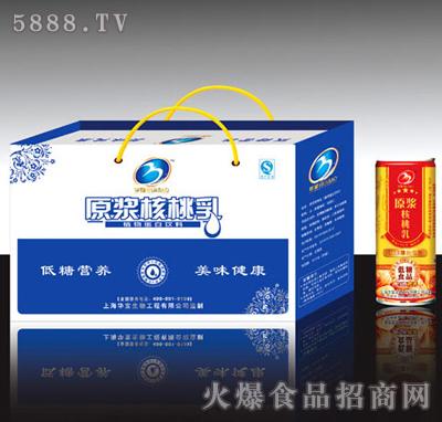 主题核桃乳原浆饮料美食a主题_漯河华宝营养美味低糖荷花图片