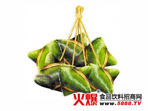 汕头人包粽子多用竹叶