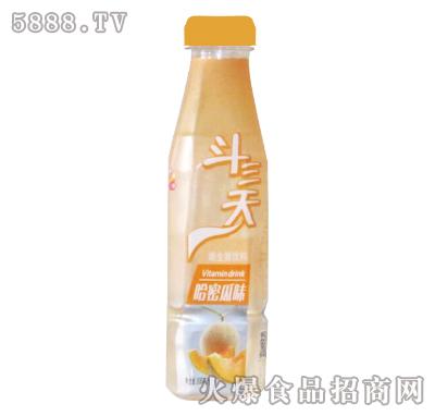 斗三天哈密瓜味500ml维生素饮料