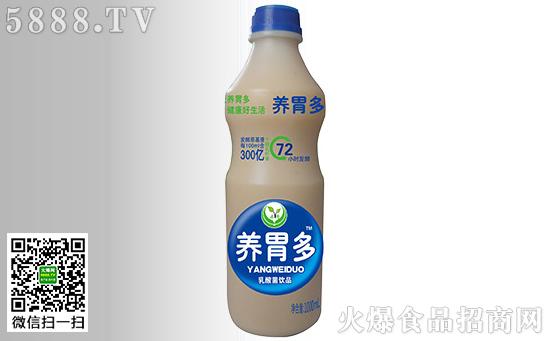 养胃多乳酸菌饮品健康的绿色的好饮品!