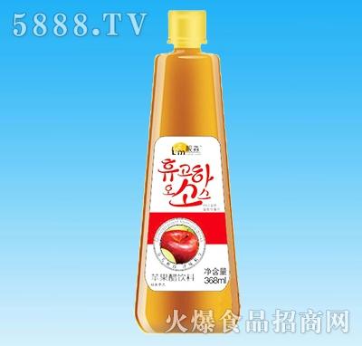 靓淼苹果醋饮料368ml