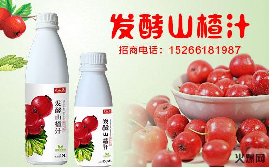 发酵山楂汁海报