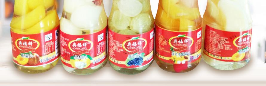 蒙康水果罐头248g
