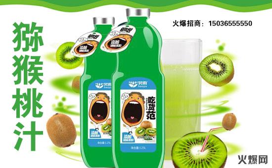 昊雨吃货范猕猴桃汁饮料系列