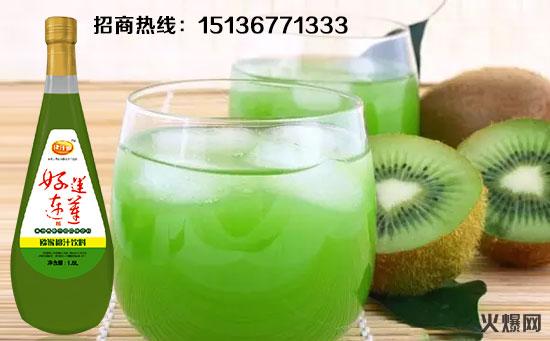 猕猴桃汁饮料海报