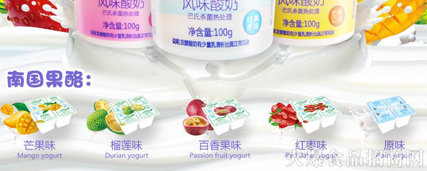 风味酸奶100g海报联系_03