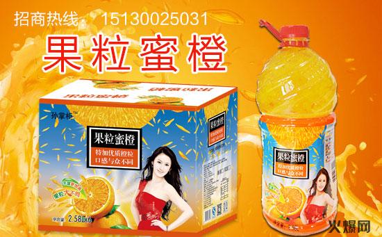 果粒蜜橙饮料