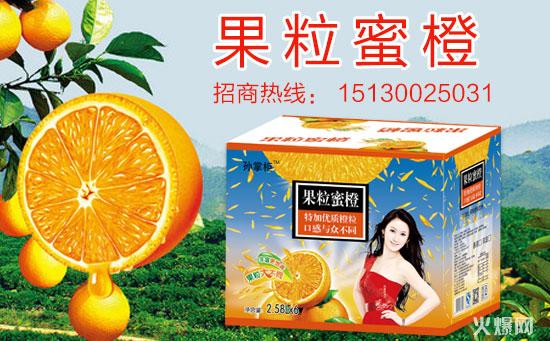 果粒蜜橙饮品