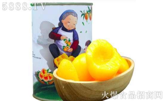 同发私厨糖水黄桃罐头图片