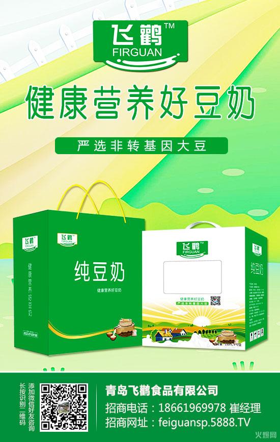 飞鹳纯豆奶礼盒