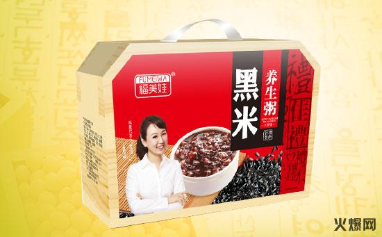 福美娃黑米八��粥
