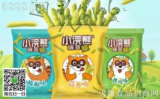 统一小浣熊豌豆脆