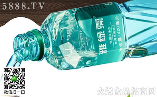 雅绿霈弱碱性饮用水