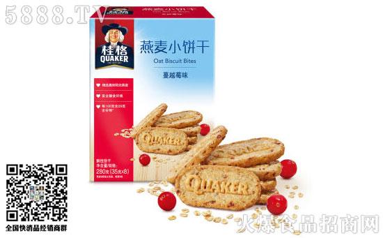 桂格燕麦小饼干图片